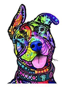 Enjoy It Dean Russo Pit Bull Car Sticker, Outdoor Rated Viny