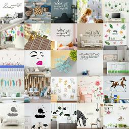 DIY Removable Family Home Wall Sticker Mural Decals Vinyl Ar