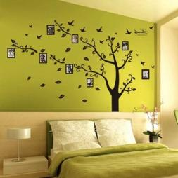 Removable Family Tree Wall Decal Sticker Large Vinyl Photo P