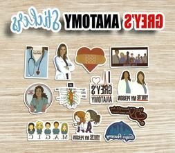 GREYS ANATOMY 12 Stickers  YOU'RE MY PERSON M.A.G.I.C. ~ L