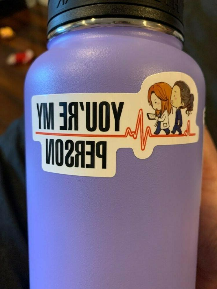GREYS 12 Stickers YOU'RE M.A.G.I.C. ~