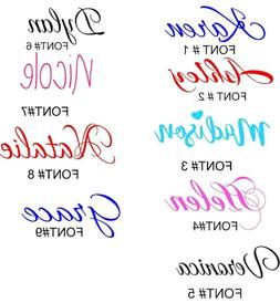 PERSONALIZED VINYL NAME DECAL STICKER